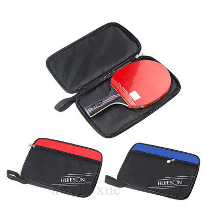 Table Tennis Racket Ping Pong Butterfly Paddle Blades Ball Carry Case Pouch Bag