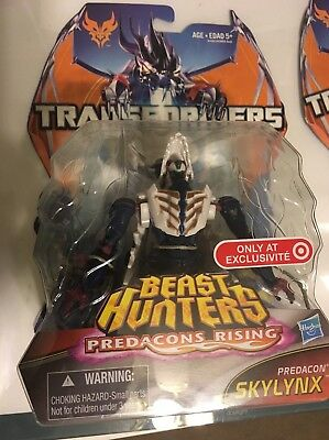 Transformers Beast Hunters Predacons Rising Skyllynx-EXCLUSIVE! FREE SHIPPING!