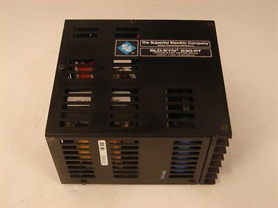 Superior Electric Slo-Syn 230-Pt Stepper Drive ***Xlnt***
