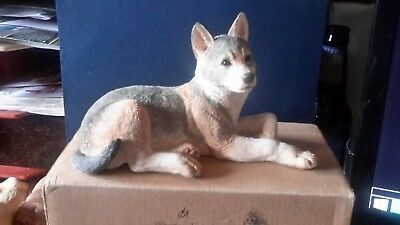 Country Artists Natural World Wolf Cub-Lying #02978 Figurine