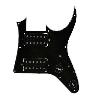 HH Loaded Pickguard with Pickups for Ibanez GRGM21 Guitar Parts Replacement 3ply