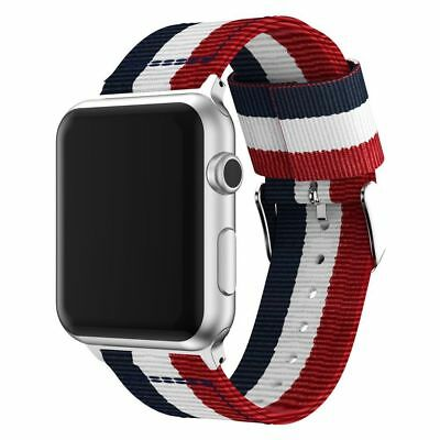 Apple Watch Replacement Band Woven Nylon Bracelet For iWatch Series 3 2 1