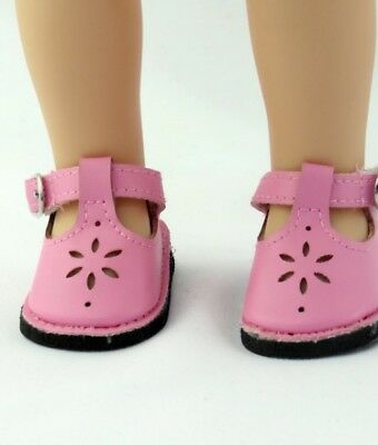 """pink shoes for 14"""" Wellie Wishers doll American Girl accessories clothes"""