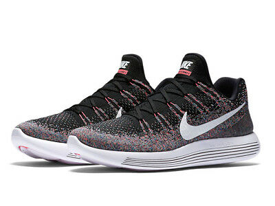 Nike Lunarepic Low Flyknit 2 Men s Running Shoes  Size 14  Hot Punch 863779- aed9bb354