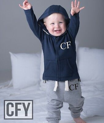 Personalised Initials First Years Tracksuit, Up To 3 Years. Navy Pink Grey Black