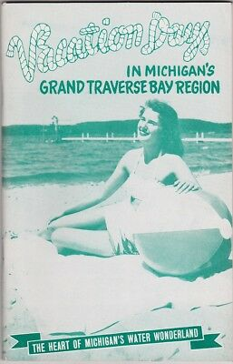 1956 Grand Traverse Bay Region Vacation Guide Booklet