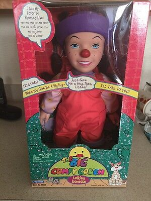 Big Comfy Couch Loonette Doll With Brushable Hair in Box Playmates 1997