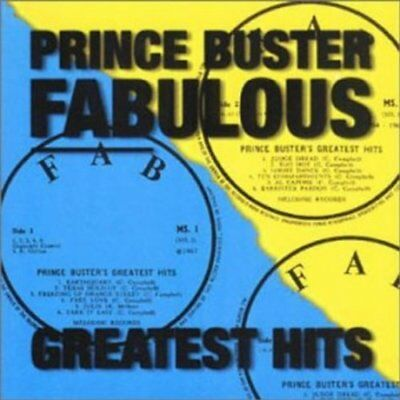 PRINCE BUSTER - Fabulous Greatest Hits - CD - Best Of Import - **SEALED/ NEW**