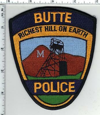 Butte Police (Montana) 1st Issue Shoulder Patch - new from the 1980's