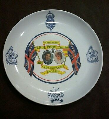 Prince Charles and Lady Diana~ Royal Marriage Plate~ 29th July 1981