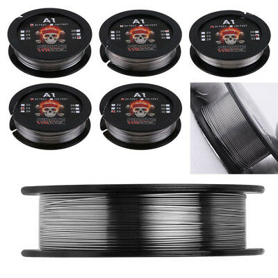 30ft UD Kanthal A1 24-32AWG Resistance Heating Wire for RDA RBA Vape Coil Clever