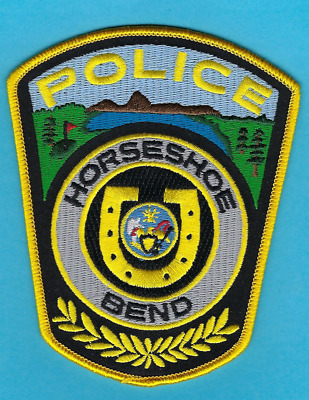 Horseshoe Bend Police Department Patch B ~ Idaho ~ Nice Artwork & Colors ~ L@@k