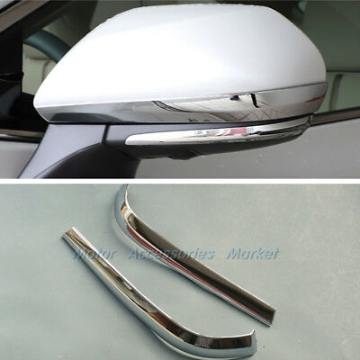 New Chrome Rearview Mirror Trim For Toyota Camry 2018 16 50