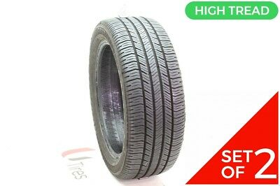 Set of (2) Used 225/50R18 Goodyear Eagle LS-2 94T - 9/32