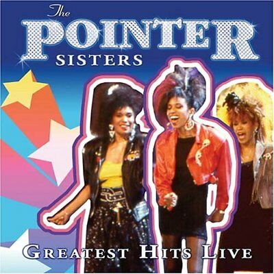 POINTER SISTERS - Greatest Hits Live - CD - Import Best Of Live - **SEALED/NEW**