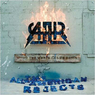 ALL-AMERICAN REJECTS - When World Comes Down - CD - *BRAND NEW/STILL SEALED*