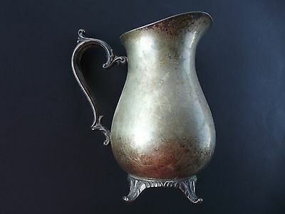 Vintage Wm Rogers 817 Silver Plate Pitcher