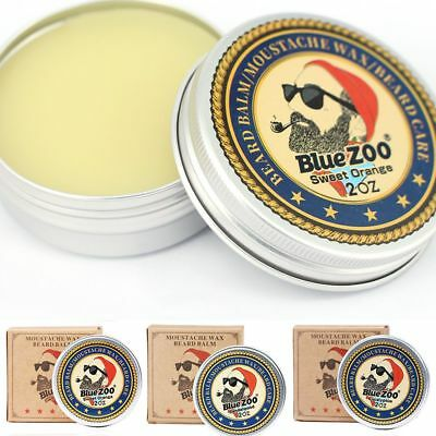 Natural Beard Balm Moisturizing Sandalwood Eucalyptus Beard Wax