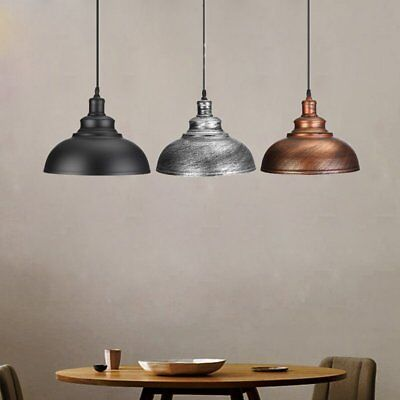 Pendant Light Lamp Vintage Retro Industrial Ceiling Lighting Hanging Chandelier%