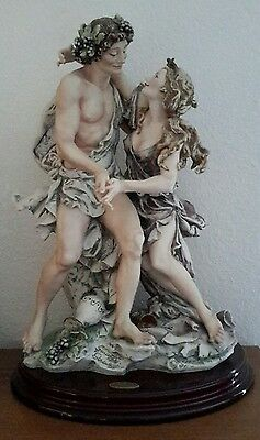 """one Of A Kind Artist Proof"" Giuseppe Armani Bacchus & Arianna Retired #419C Ap"