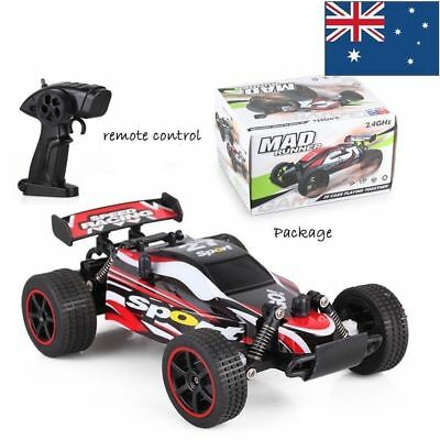 AU 1:20 2.4G Remote Control Off-Road Monster Truck High Speed RTR RC kid Car 4WD