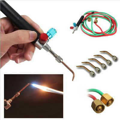 Universal Jewelers Micro Mini Gas Little Torch Welding Soldering Kit & 5 Tips