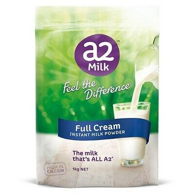 1kg A2 Milk Powder Full Cream High Calci Ship from Australia Made in Newzealand