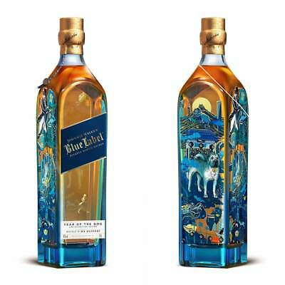 JOHNNIE WALKER®BLUE LABEL YEAR OF THE DOG LIMITED EDITION DESIGN 750mL
