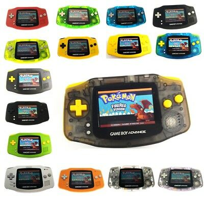Game Boy Advance GBA Console w/ AGS 101 Backlight Backlit Mod & Colorful Buttons