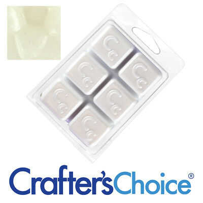 Crafters Choice™ White Clouds Shimmer Mica Soap Color Blocks