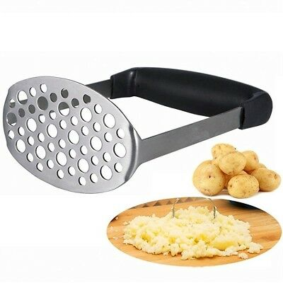 Angker-Stainless Steel Potato Masher, Vegetables and Fruits. Ricer - with