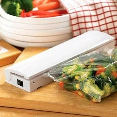 EG_ Mini Heat Sealing Machine Smart Impulse Sealer Seal Packing Plastic Bag Kit