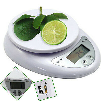EG_ 5kg 1g Digital Kitchen Food Diet Postal Scale Electronic Weight Balance Late