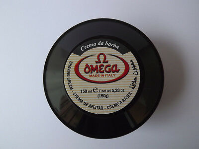 OMEGA Made in italy Crème à raser 150 ml Homme NEUF