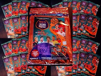 PANINI Adrenalyn XL-Road to 2018 World Cup Russia Weltmeisterschaft Sammelkarten