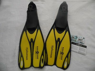 Aqua Lung Sport Hydrostream Fins Size Eu 44-45 Uk 9.5-10.5 New