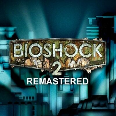 BIOSHOCK 2 REMASTERED - PC Mac Steam Game Key Code Digital Download Region  Free