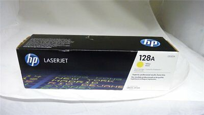 Original HP CE322A 128A Toner gelb Color LaserJet Pro CM1400 in OVP [90-09-63]