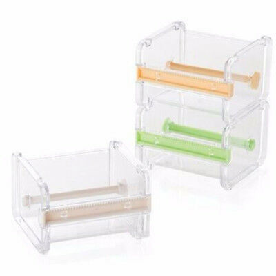 EG_ PVC Tape Dispenser Washi Tape Cutter Tape Holder Storage Organizer Case Eyef