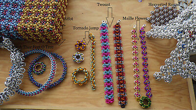 5X chainmaille weave - DIY TUTORIAL PDF only
