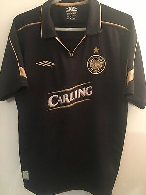 Genuine Authentic Celtic Football Soccer Away Shirt Adult Medium 2003/2004