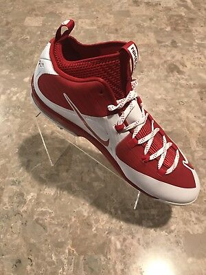 new style 2ad46 3fb25 Nike Air Max MVP Elite 2 3 4 Size 15 Metal Baseball Cleats Red