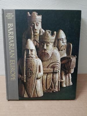 Time Life Great Ages Of Man 1968 Book: Barbarian Europe Good Clean Condition