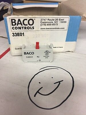 Baco contact block new Lot Of 5