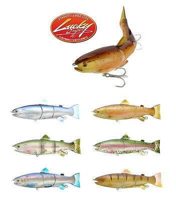 "Lucky Craft Real California 200 Supreme Swimbait 7 7/8"" (20 Cm) Select Colors"