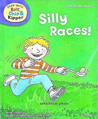 Silly Races | Biff Chip Kipper | Children's book | Phonics | Level 2 | New