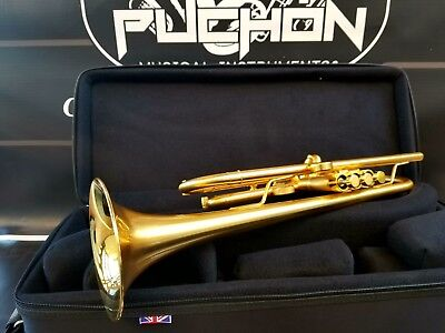 JP by Taylor Satin Custom Trumpet- Professional (Gold plated bits)
