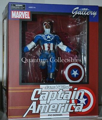 *DAMAGED BOX*Marvel Gallery Sam Wilson (Falcon)as Captain America PVC Statue DST