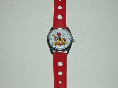 RONALD McDONALD Wrist Watch Very Rare Vintage 1976 Manager's Award