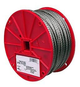 "5/16""x200 Ft Roll Galvanized Aircraft Steel Rope Cable"